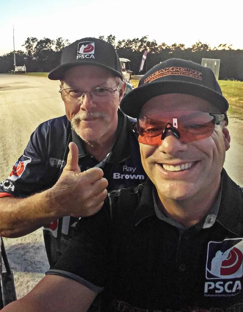 Fiocchi Teammates Ray Brown and Chad Roberts at Bass Pro PSCA Tour Stop 4