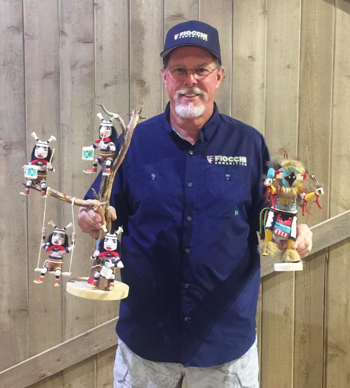 Ray's trophies from Kachina shoot at Ben Avery Clay Target Center in Phoenix AZ