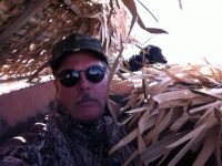 Ray in the Pit Blind